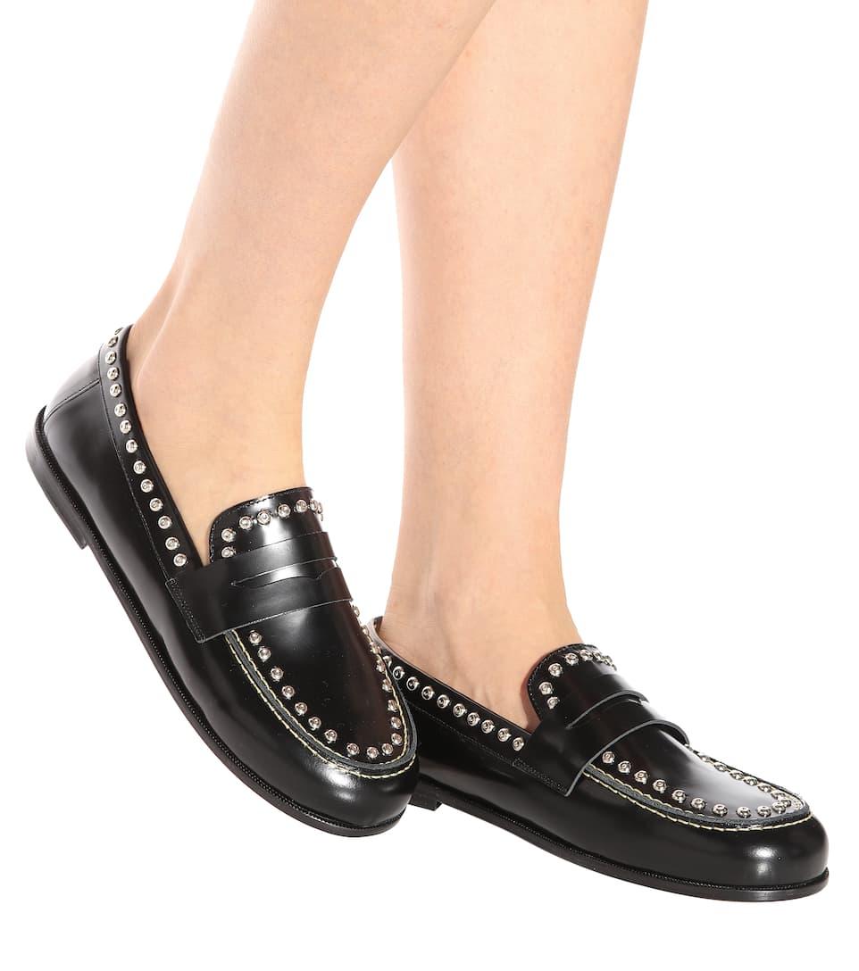 Isabel Marant Loafers Fenzay aus Leder