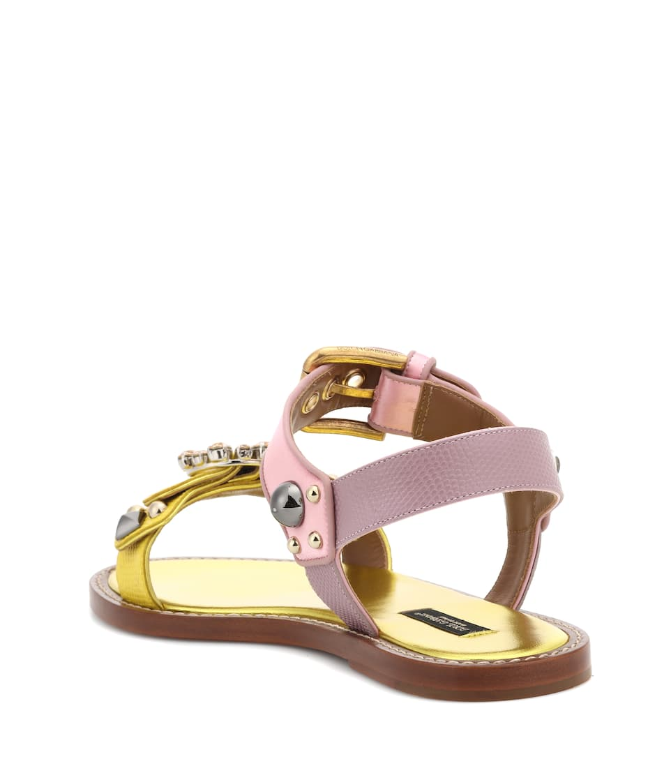 Dolce & Gabbana Sandals With Ornament