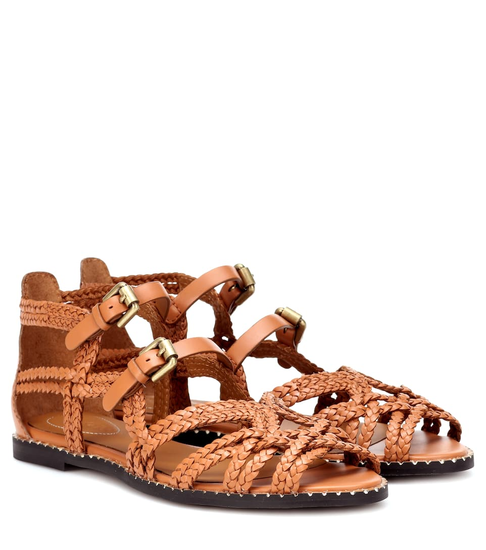 a24b48bf4669c Leather Sandals - See By Chloé