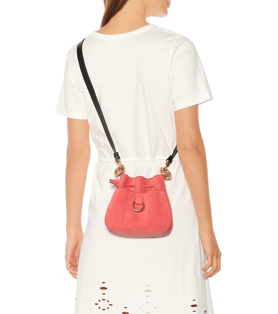 c2adc5284f Tony Mini Leather Bucket Bag | See By Chloé - Mytheresa