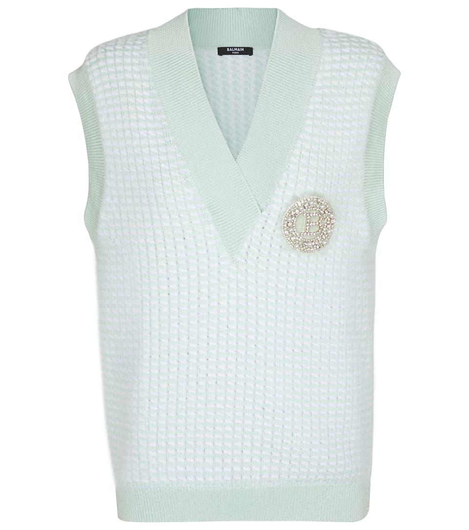 Brunello Cucinelli Cardigan Knitwear Cardigan Jacket Waistcoat Vest New L