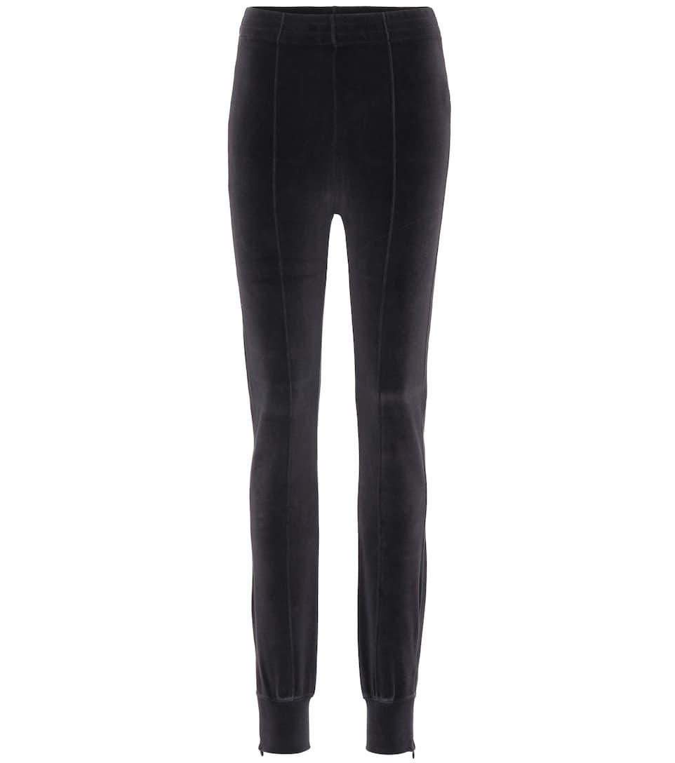 S//M BLACK Stretchy Velur Mini Dress S05