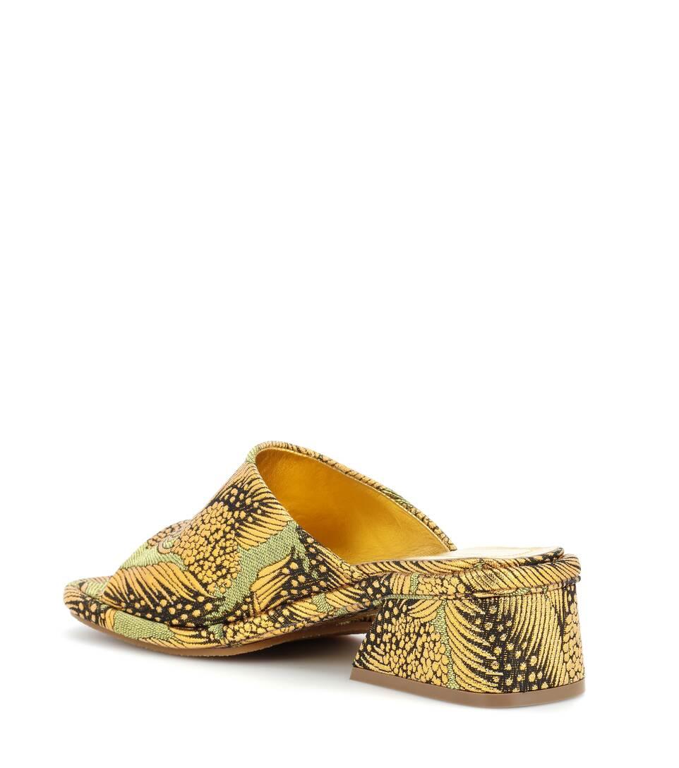 Dries Van Noten Printed Sandals