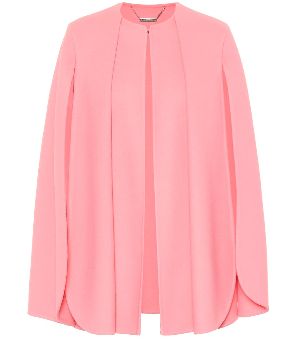 Alexander Mcqueen Clothing WOOL AND CASHMERE CAPE