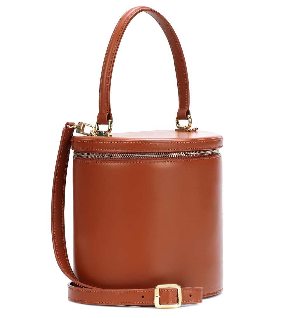 Staud Bucket Bag Vitti aus Leder
