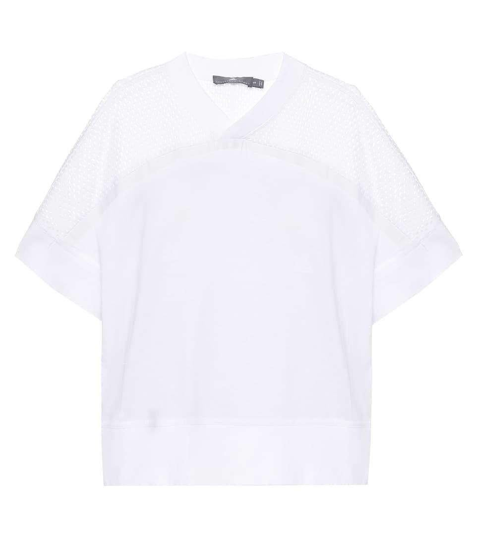 Adidas by Stella McCartney T-Shirt Training Cotton Mesh