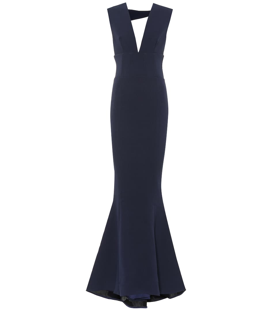 Rebecca Vallance MIMOSA STRETCH CRÊPE GOWN