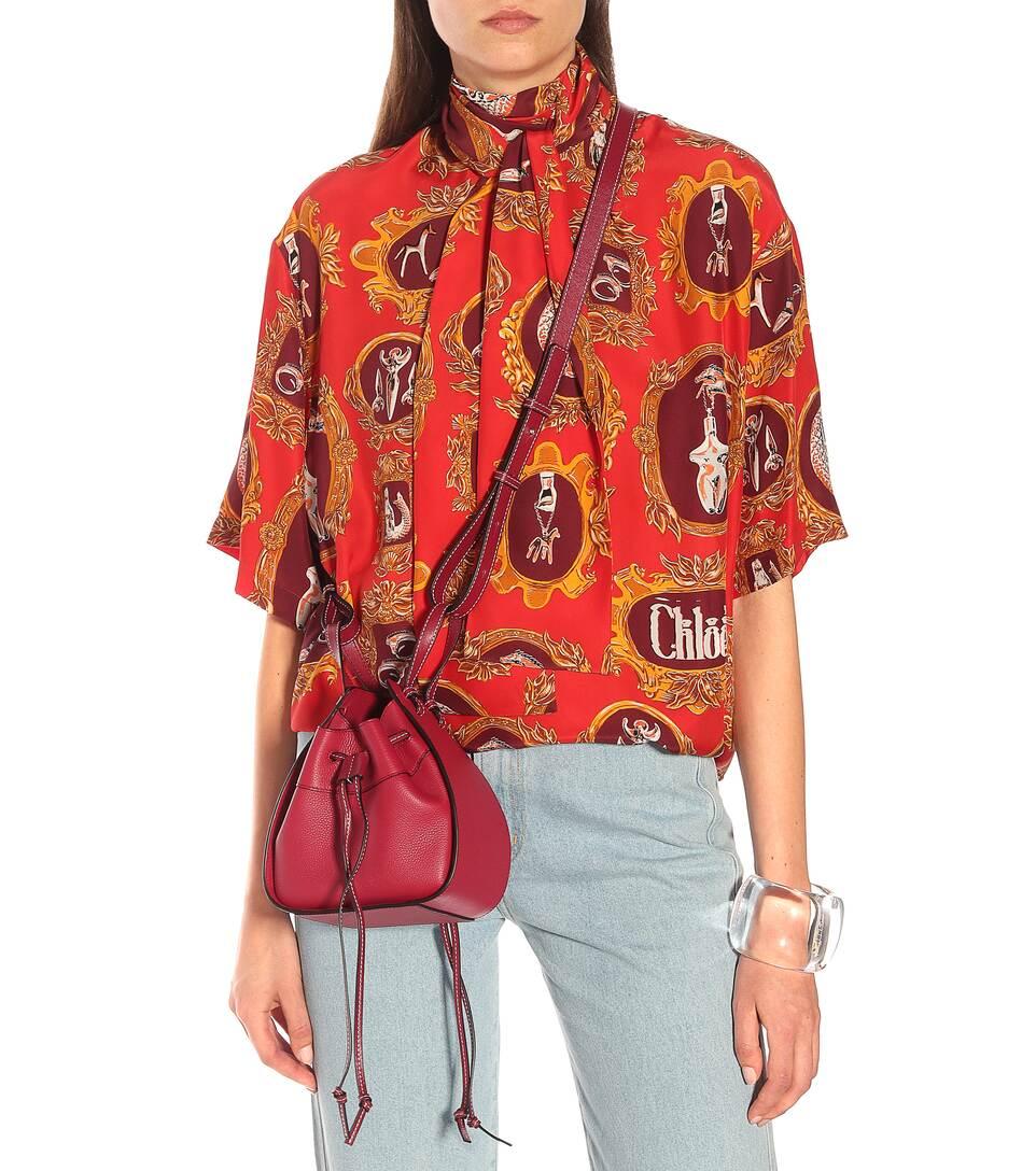c4ed490f9b0 Loewe - Hammock Drawstring Mini shoulder bag | Mytheresa