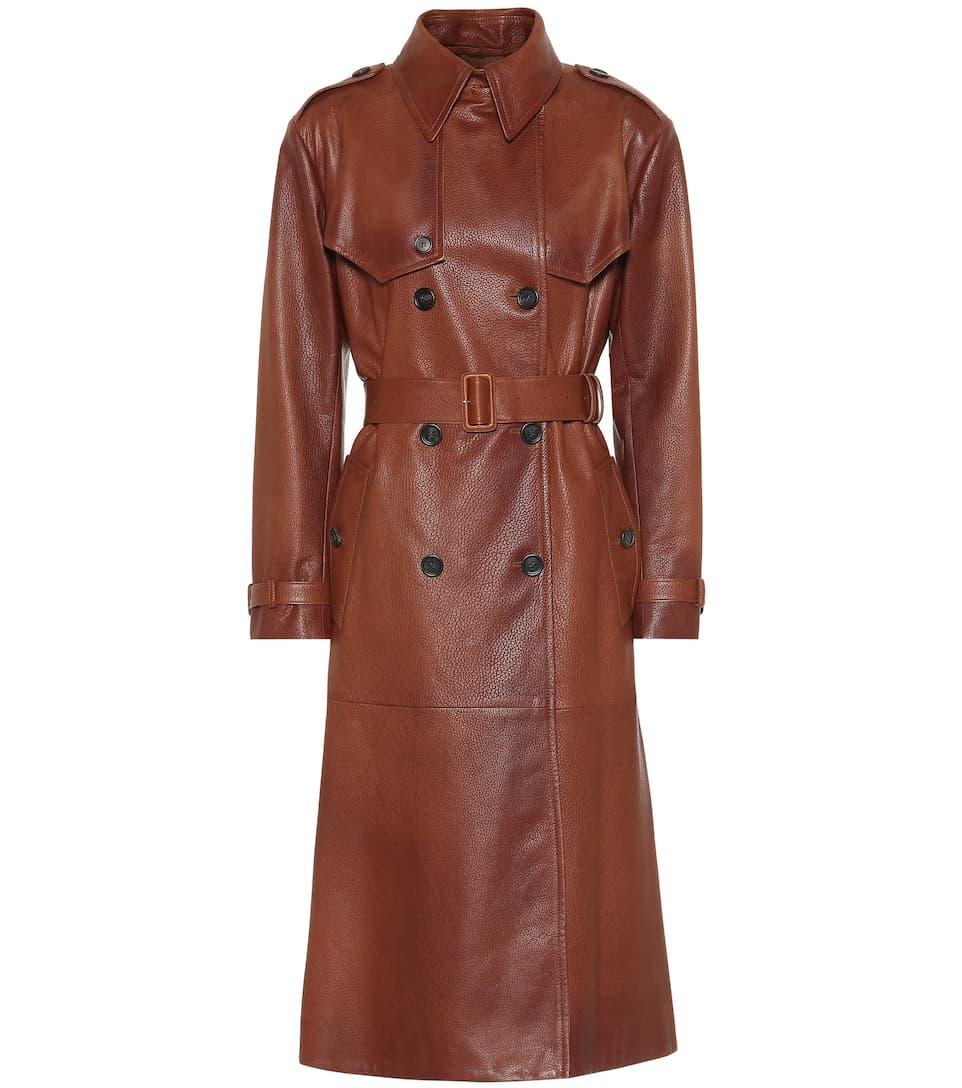 En Cuir Trench PradaN° coat Artnbsp;p00405645 lcTKFJ31