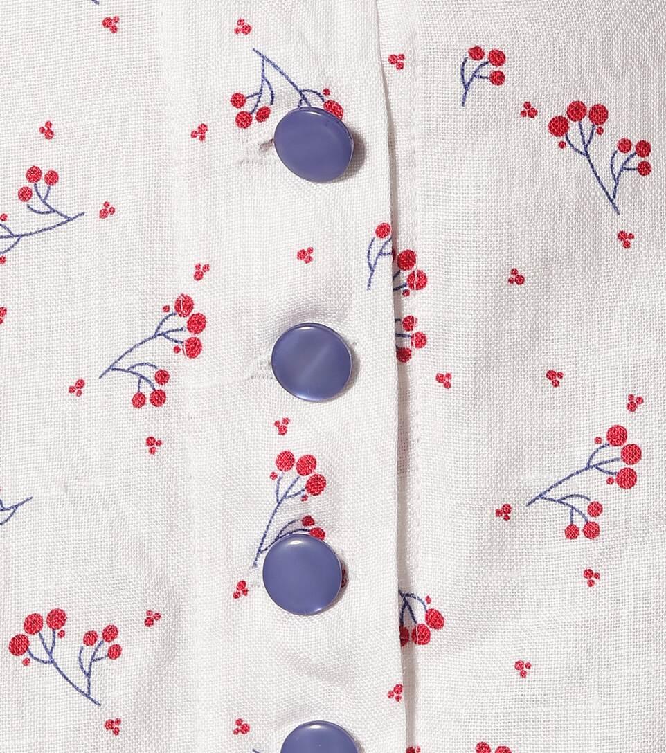 Gül Hürgel - Floral linen maxi skirt