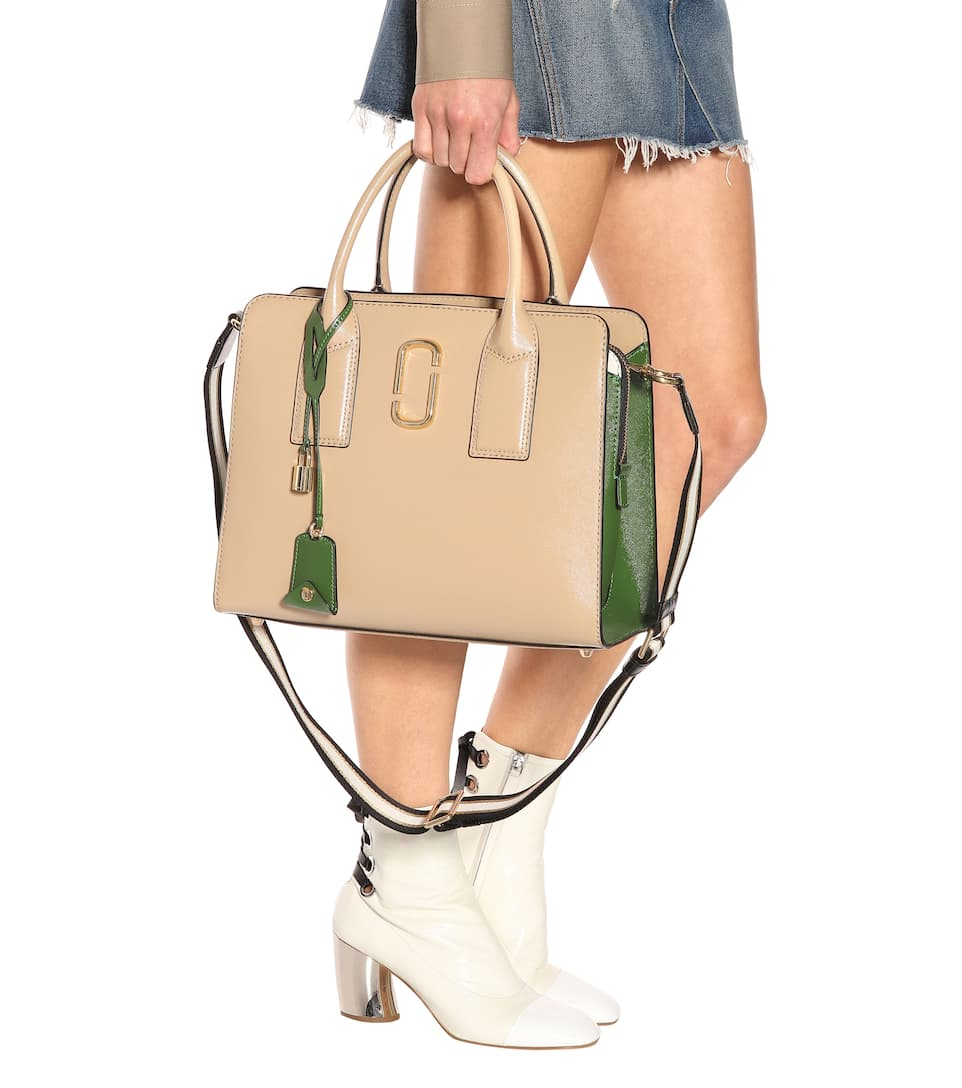 Marc Jacobs Big Shot leather tote Sandcastle Multi Collections Cheap Price Fashion Style For Sale Cheap Sale Sneakernews h7gx8oX