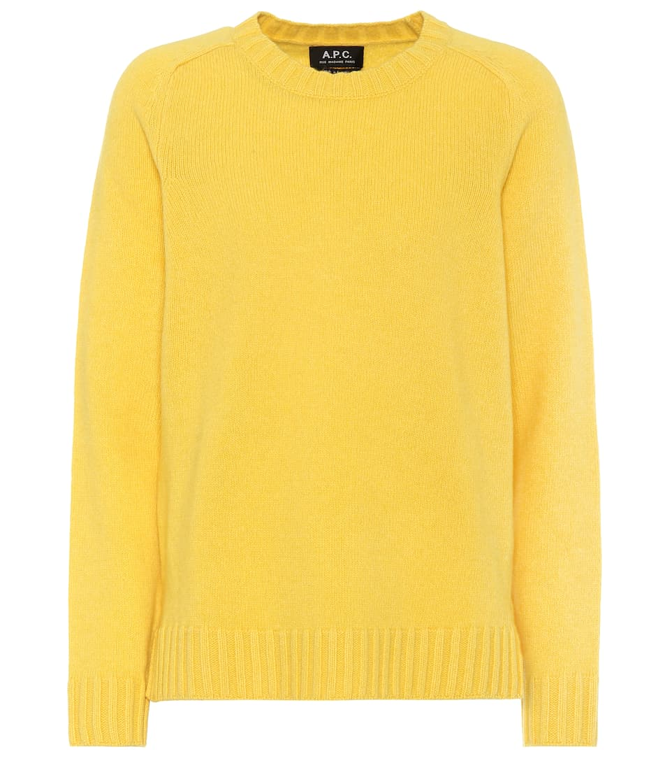 Apc Pullover Wool And Cashmere