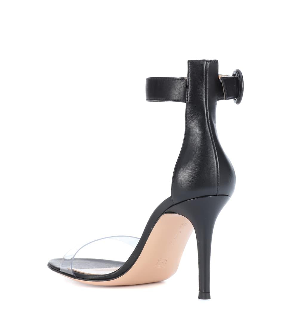 Online-Verkauf 2018 Neueste Preiswerte Online Gianvito Rossi Sandalen Portofino 85 aus Leder Online-Shopping Günstigen Preis Preise Und Verfügbarkeit Günstiger Preis 2Mctbn1b