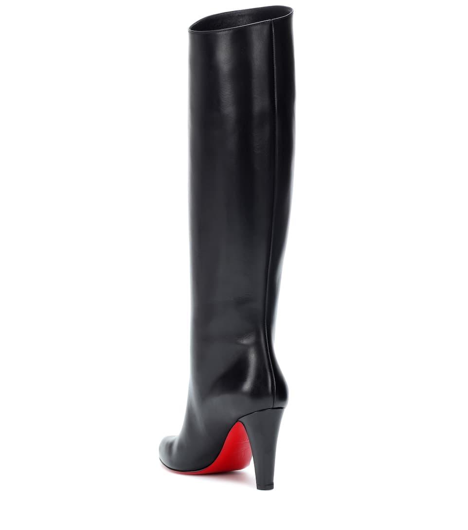 sports shoes 91dda 85b42 Marmara Botta 85 Leather Boots - Christian Louboutin | mytheresa