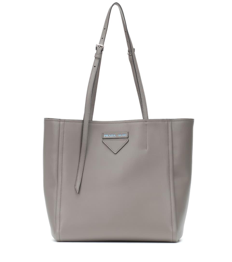 03cac66b5e91bf Prada - Shopper Prada Concept in pelle | Mytheresa