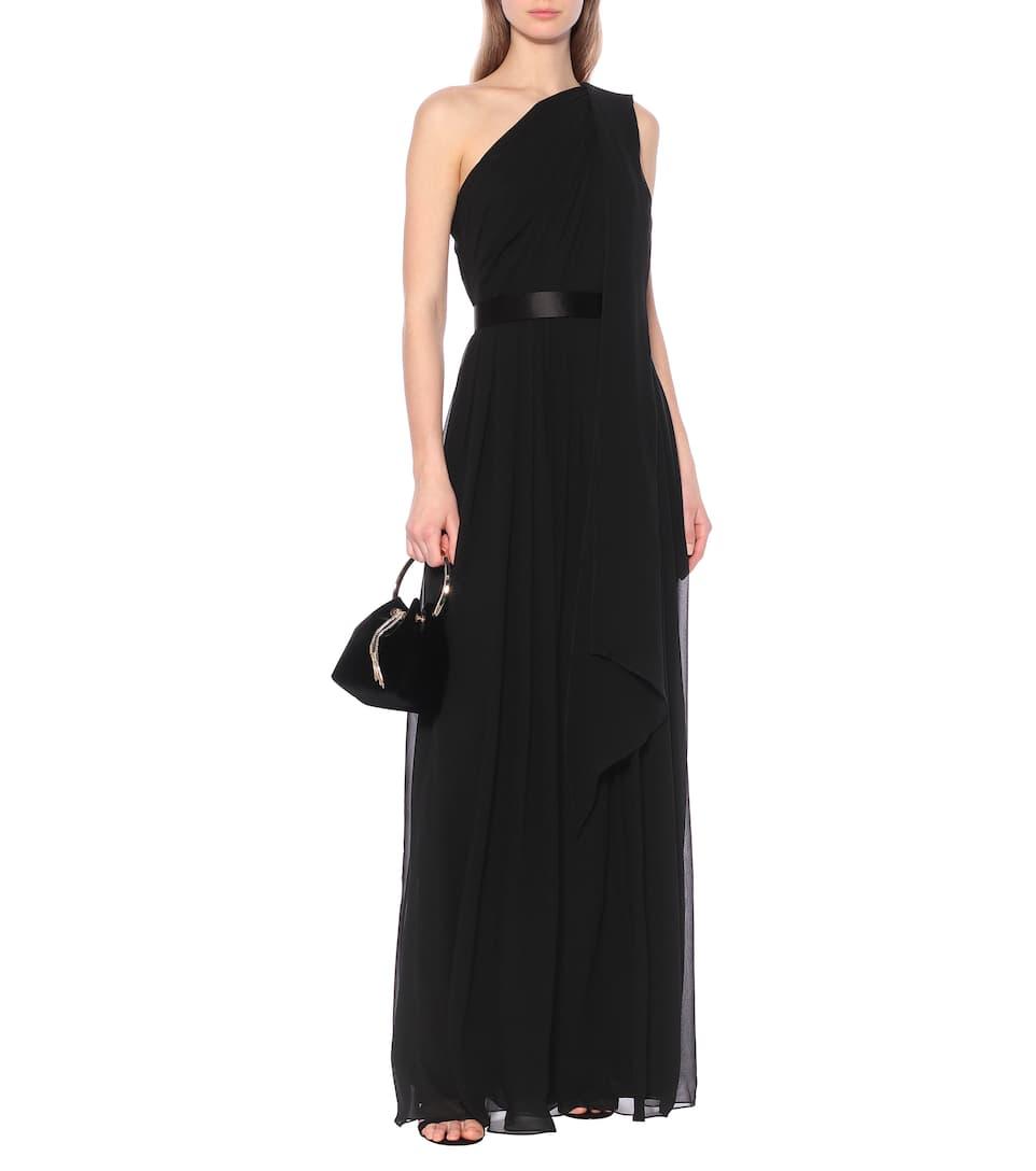 Max Mara - Berger silk one-shoulder gown