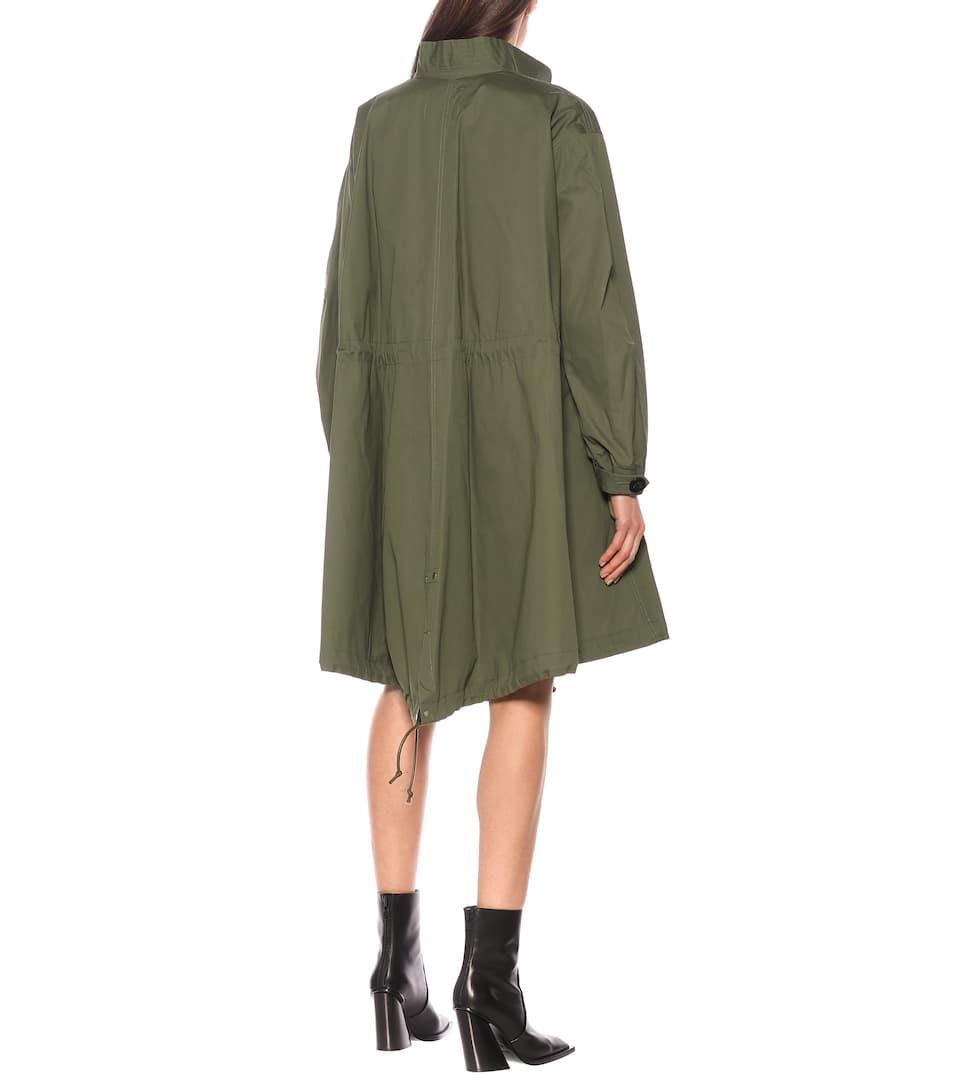 Cotton Oxford Coat - Sacai