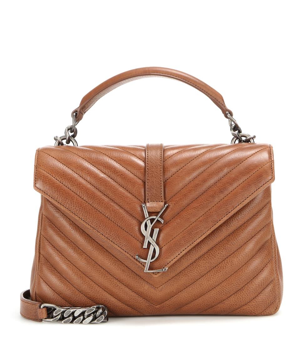 yve saint laurent bag - small cabas rive gauche bag in black, red, dove white, light blue ...