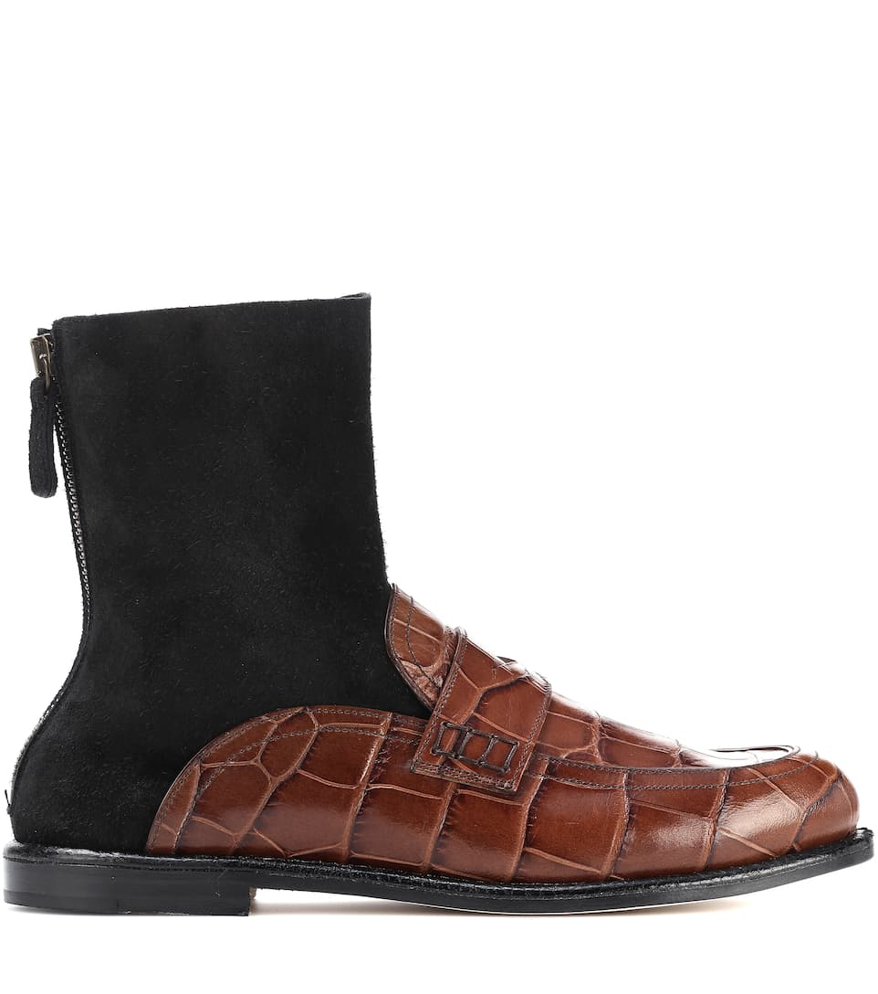 Loewe Loafer-Boots