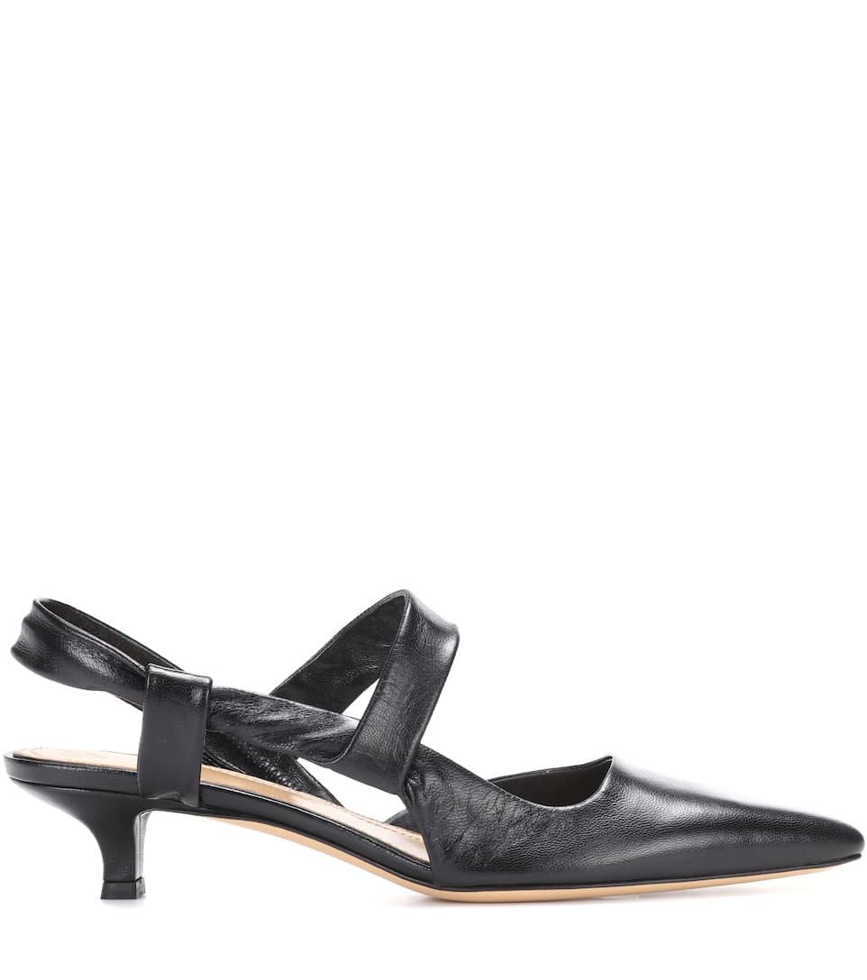 The Row Pumps Coco Twist aus Leder