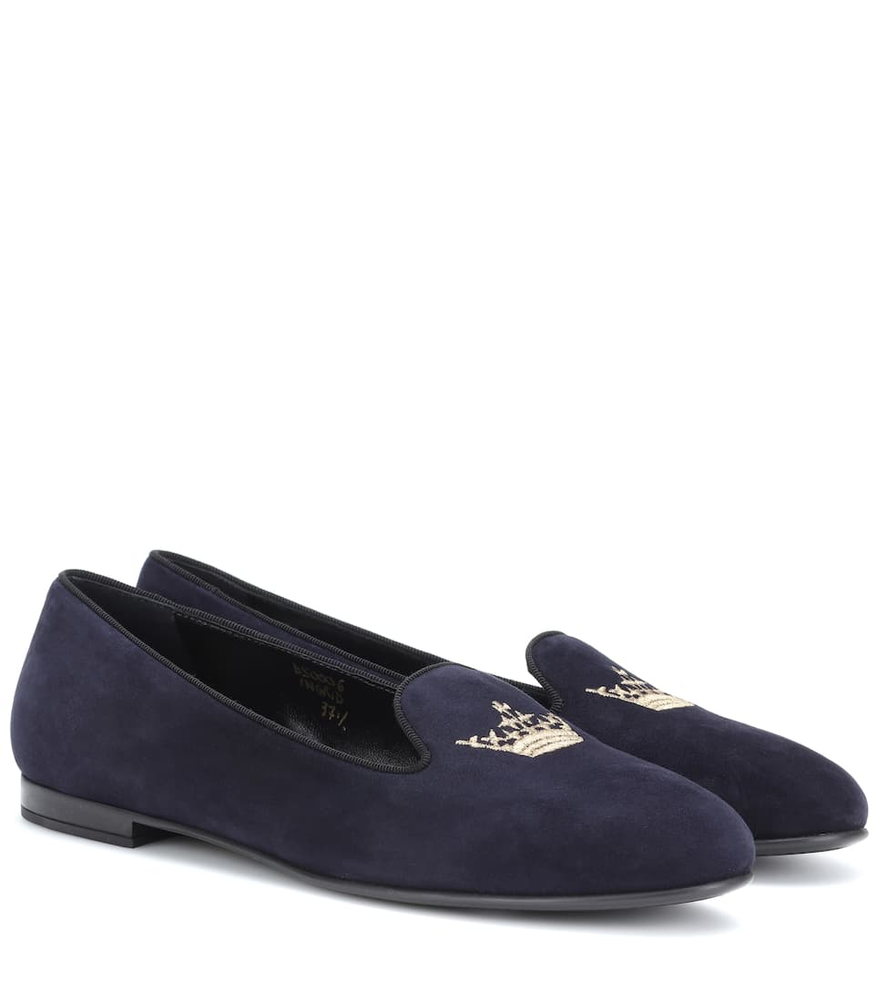 Church's Loafers Ingrid aus Veloursleder