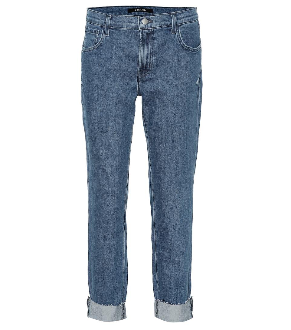 Johnny Mid Rise Boyfriend Jeans by J Brand