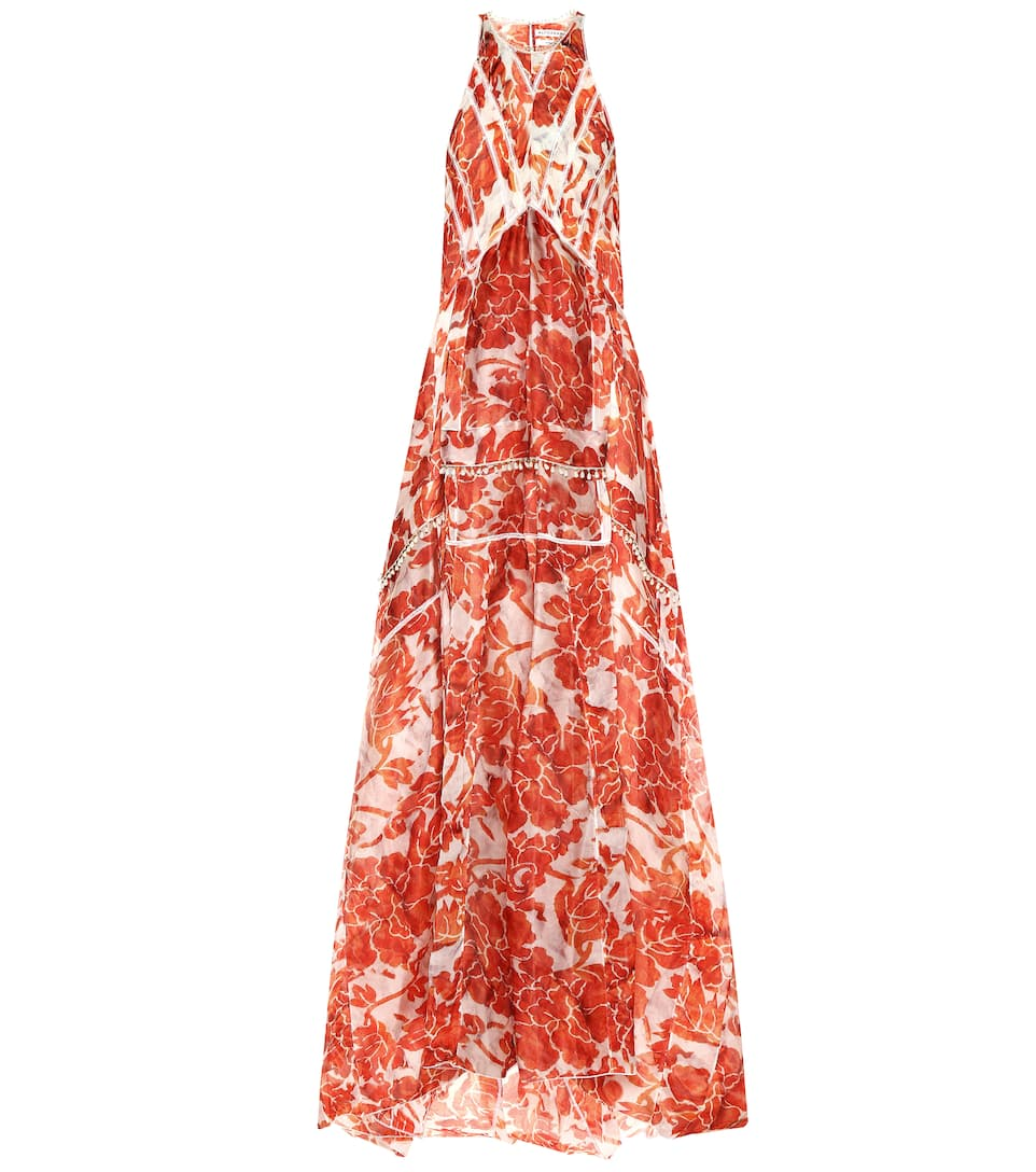 Altuzarra - Bellini embellished silk maxi dress