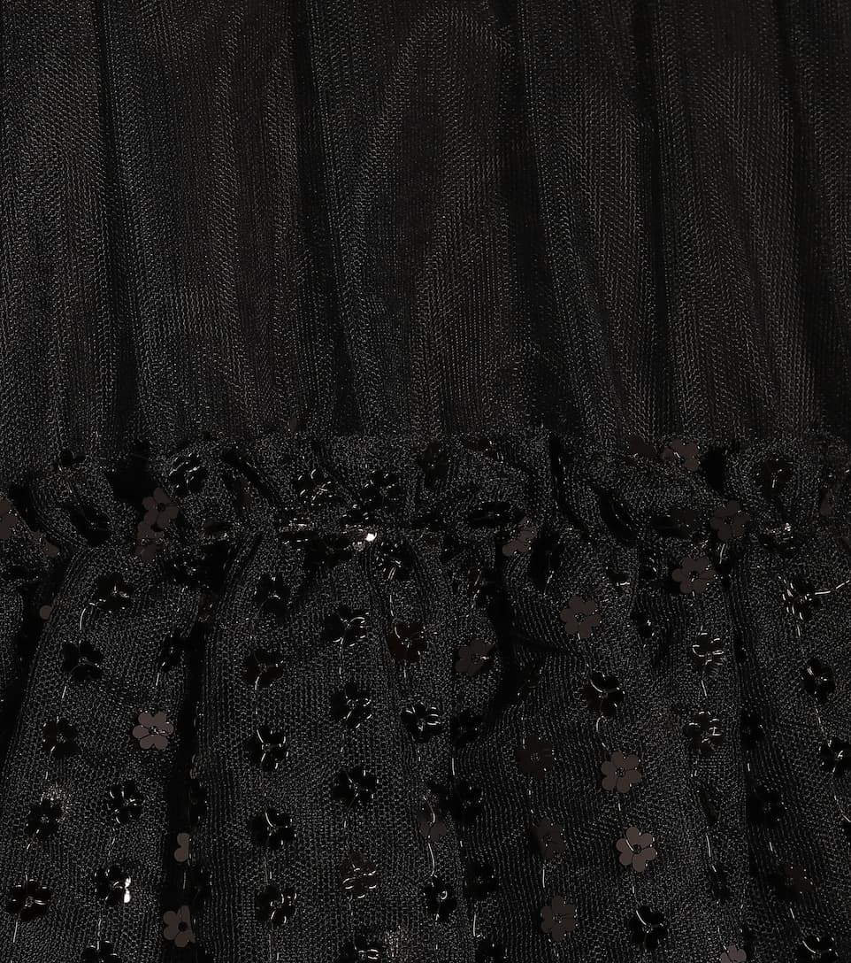 Simone Rocha - Cotton-jersey and tulle dress