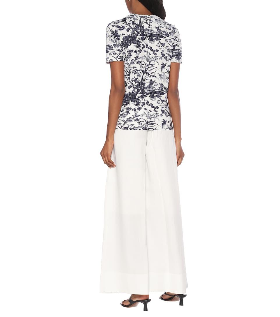 Erdem - Hettie floral cotton T-shirt