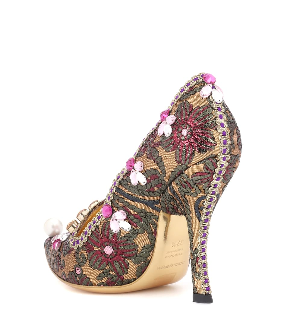 Dolce &; Gabbana Pompes Avec Décoration