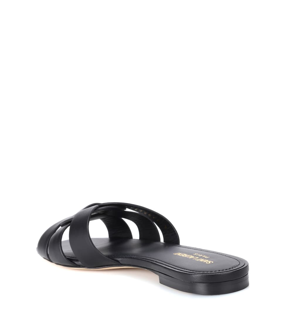 Saint Laurent Sandals Of Leather