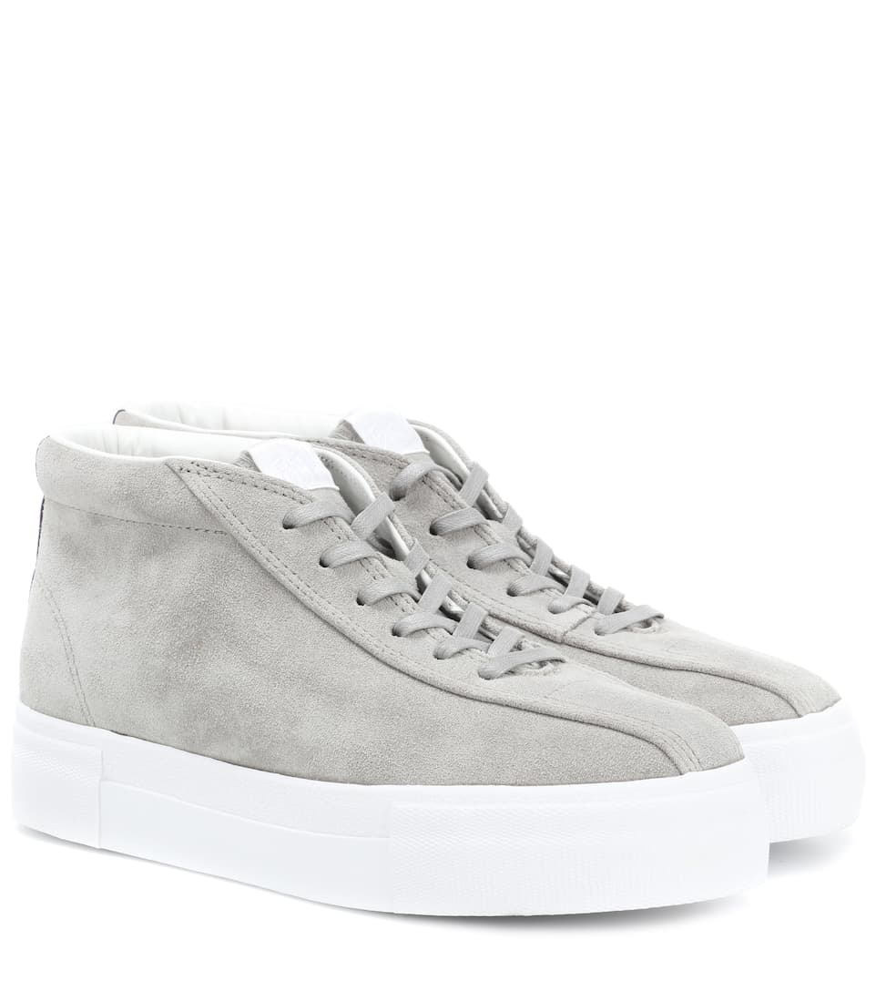 Mother suede high-top sneakers Eytys SVbLteo5