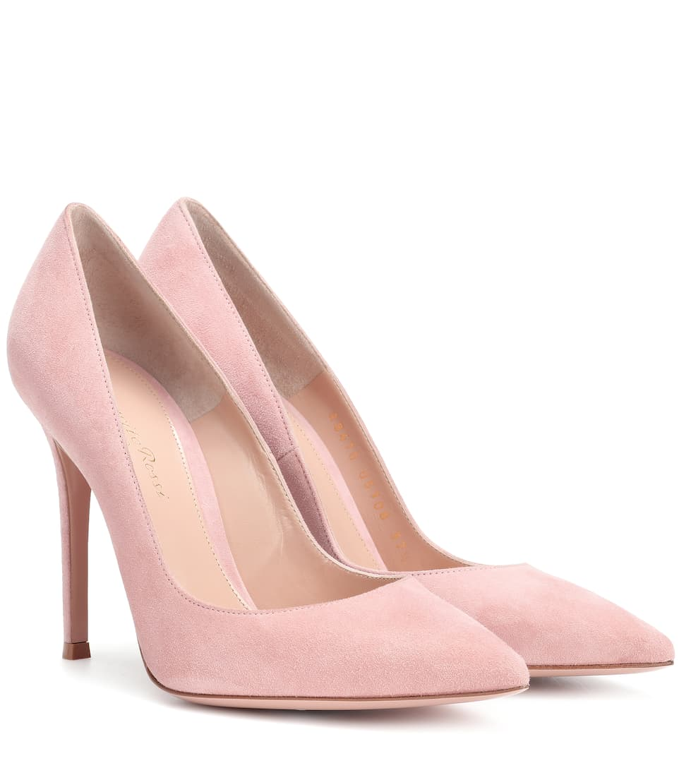 GR Pink Suede Courts