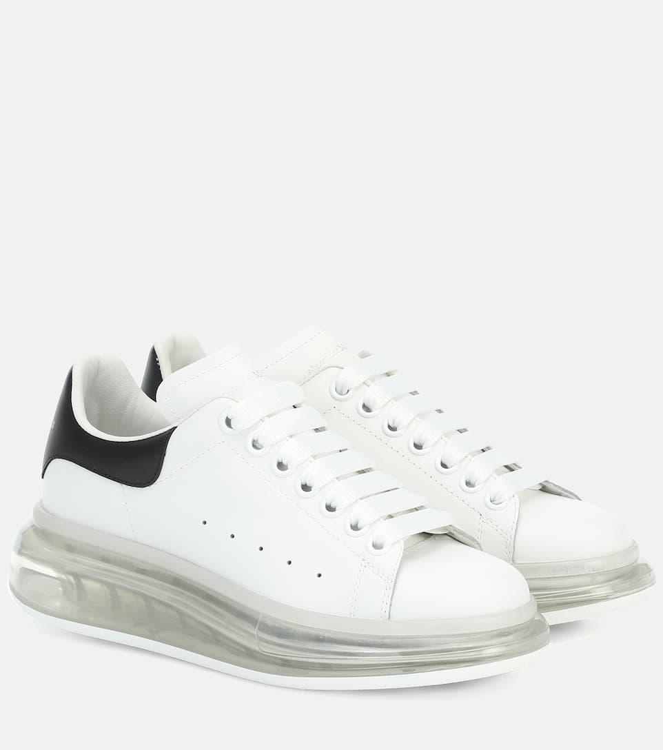 Alexander McQueen - Leather sneakers