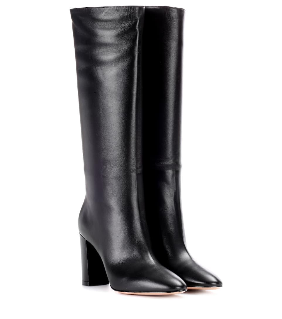 ba78614440c3 Ankle Boots Laura 85 Aus Leder - Gianvito Rossi