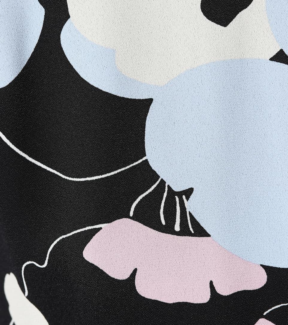 Marni Bedrucktes Kleid aus Crêpe