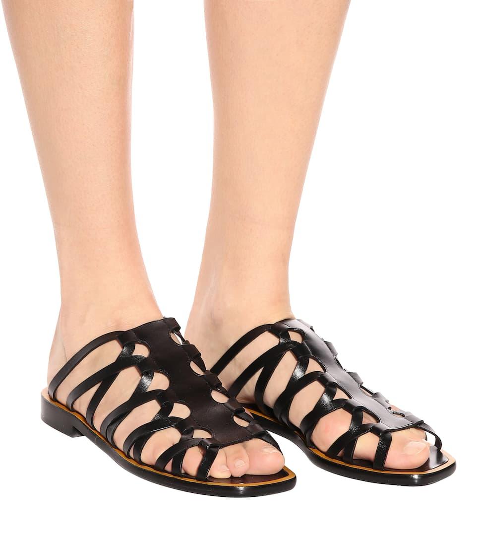 Altuzarra Sandalen aus Leder
