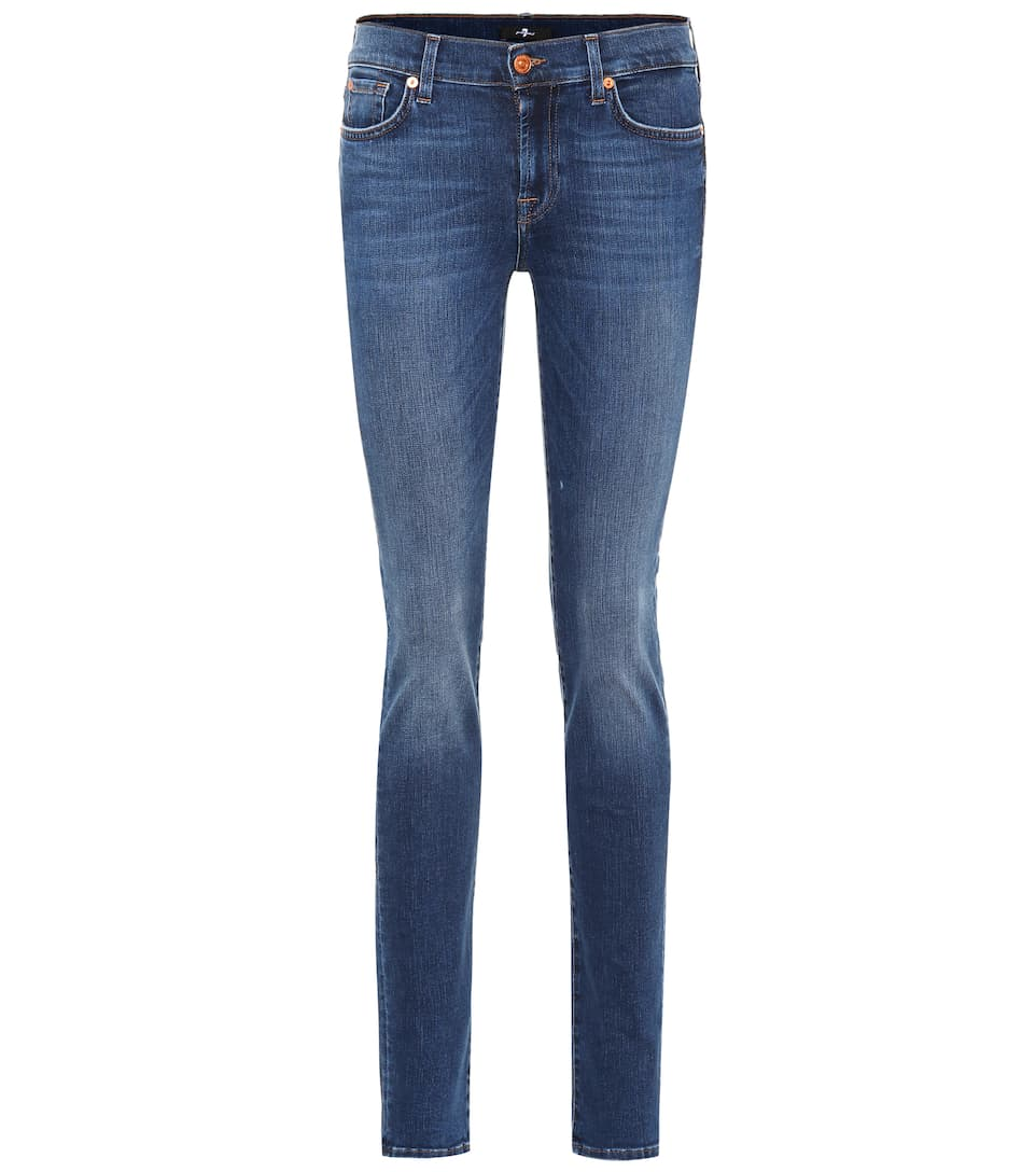 Big Sale For Sale 7 For All Mankind Roxanne Slim Illusion jeans Slim Illusion Lovesong New Styles Online Clearance Original Outlet 2018 Online Cheapest 6C3aQYpH