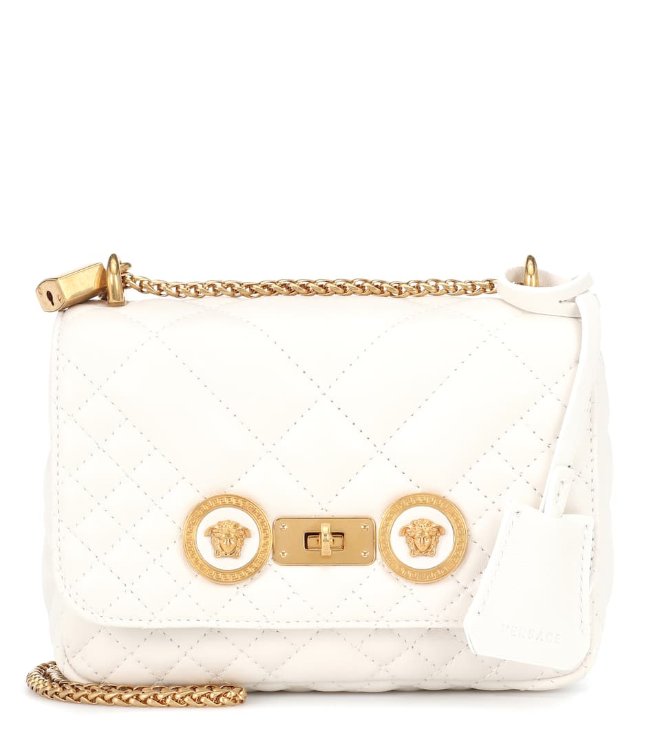 fc5bf32689 Small Quilted Icon Shoulder Bag - Versace