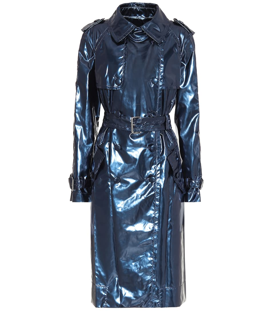 f720a856 Marc Jacobs - Metallic vinyl trench coat | Mytheresa