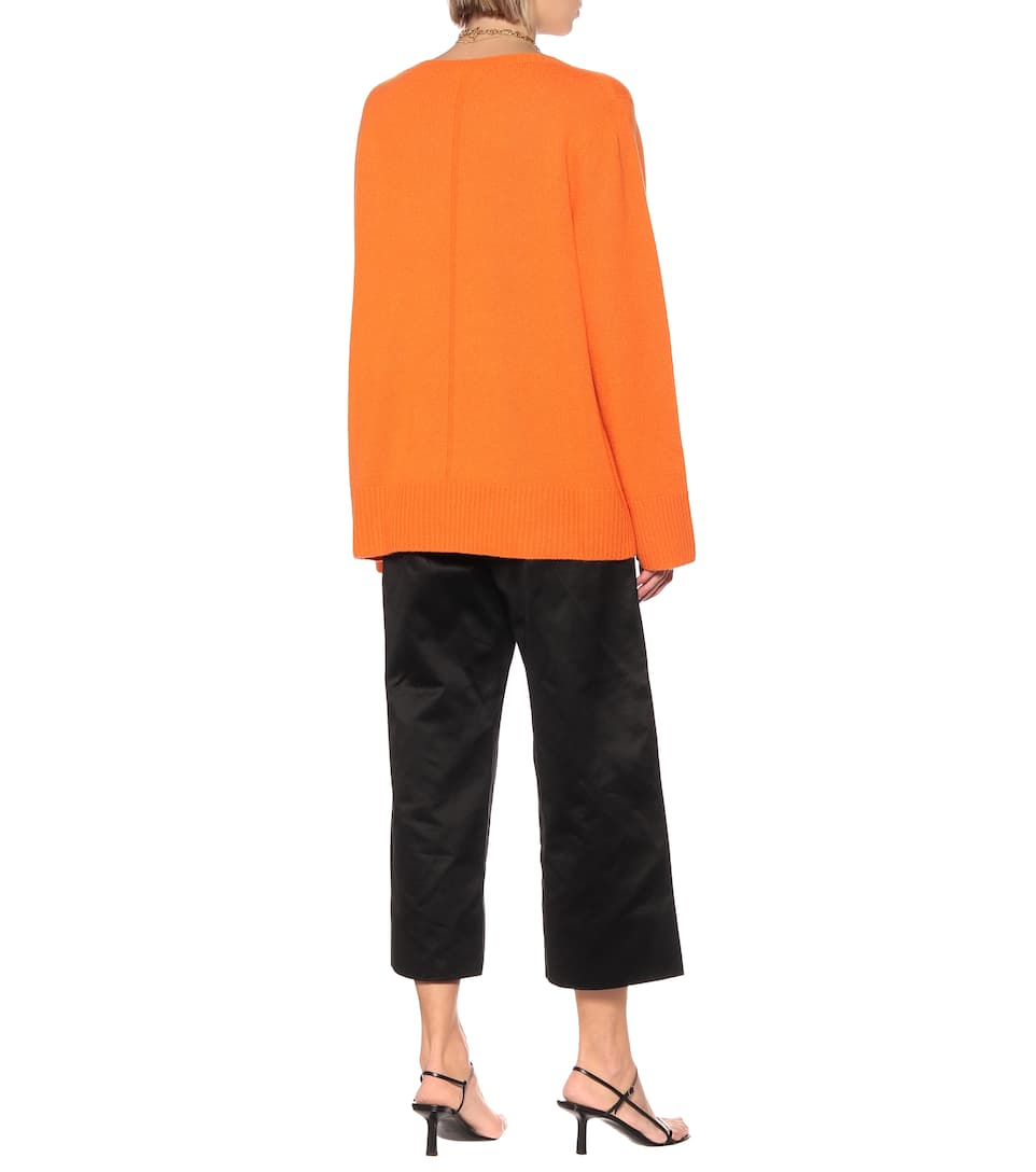 Sibel Wool And Cashmere Sweater - The Row