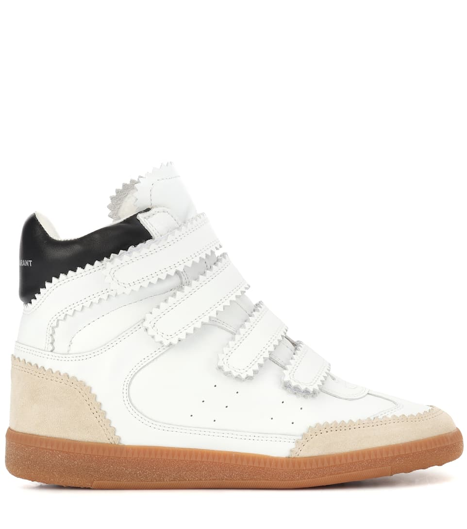 Bilsy Leather Sneakers | Isabel Marant