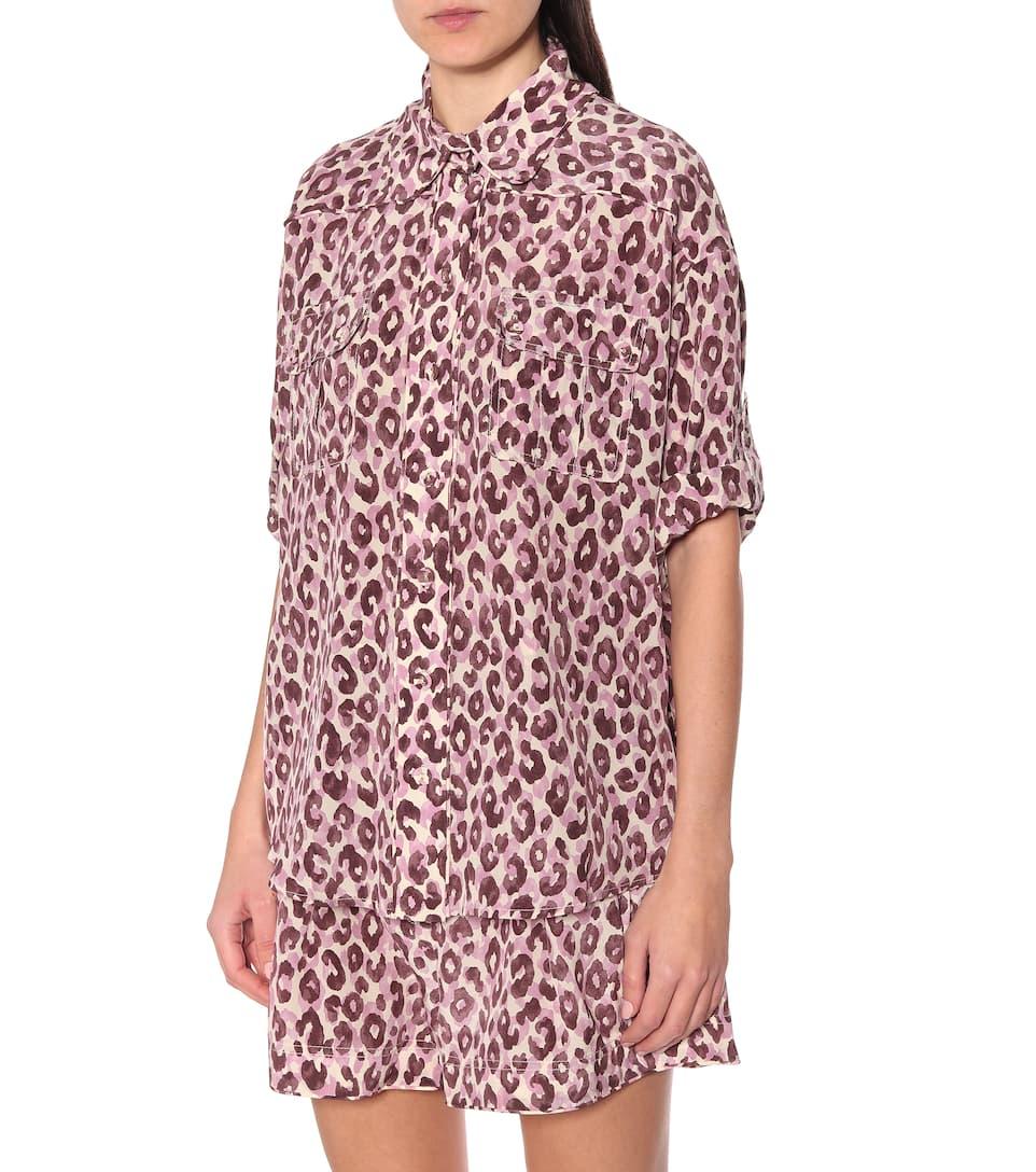 Zimmermann - Super Eight silk blouse