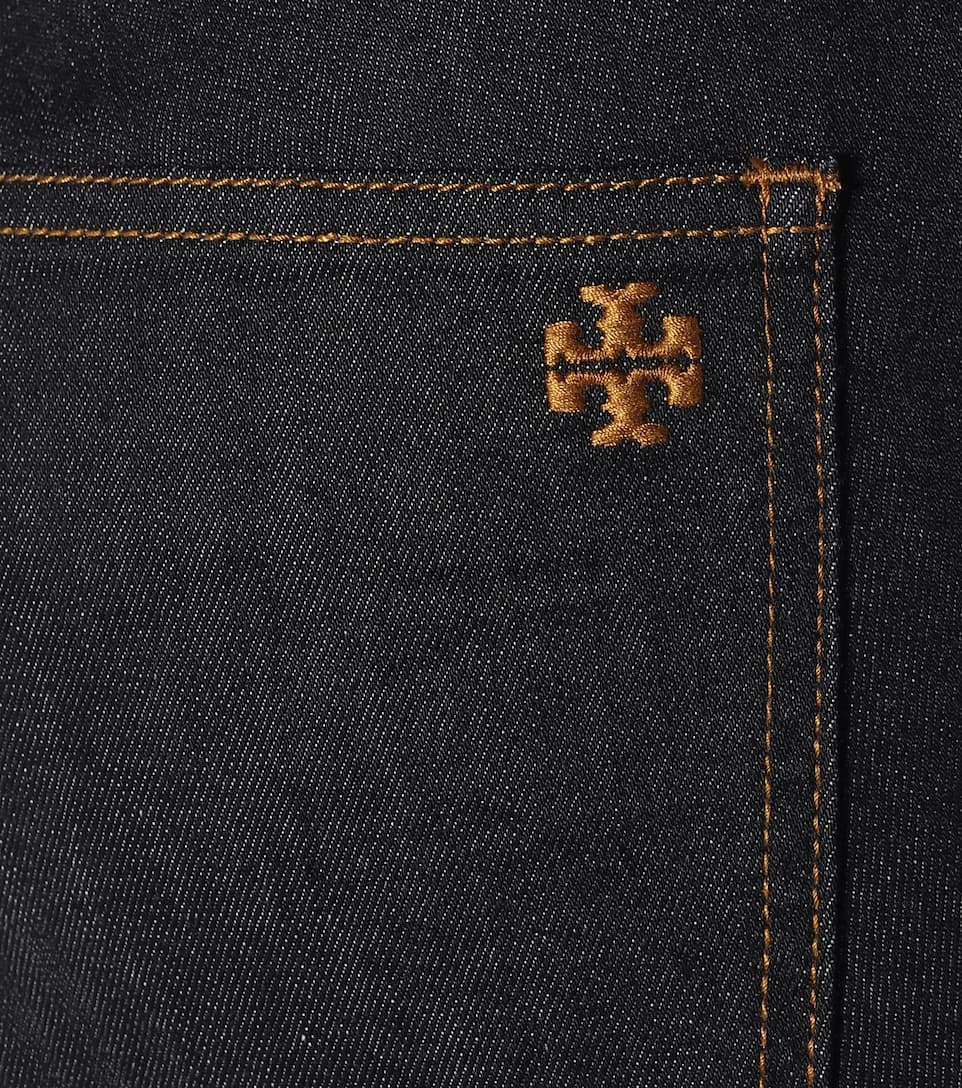 Tory Burch - Mid-rise straight jeans
