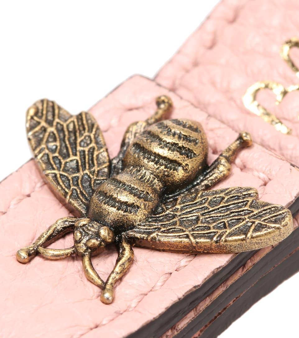 Printed Leather Keychain - Gucci Magasin Vente En Ligne Acheter Un Excellent Pas Cher Livraison Gratuite En Édition Limitée hxZabBJ