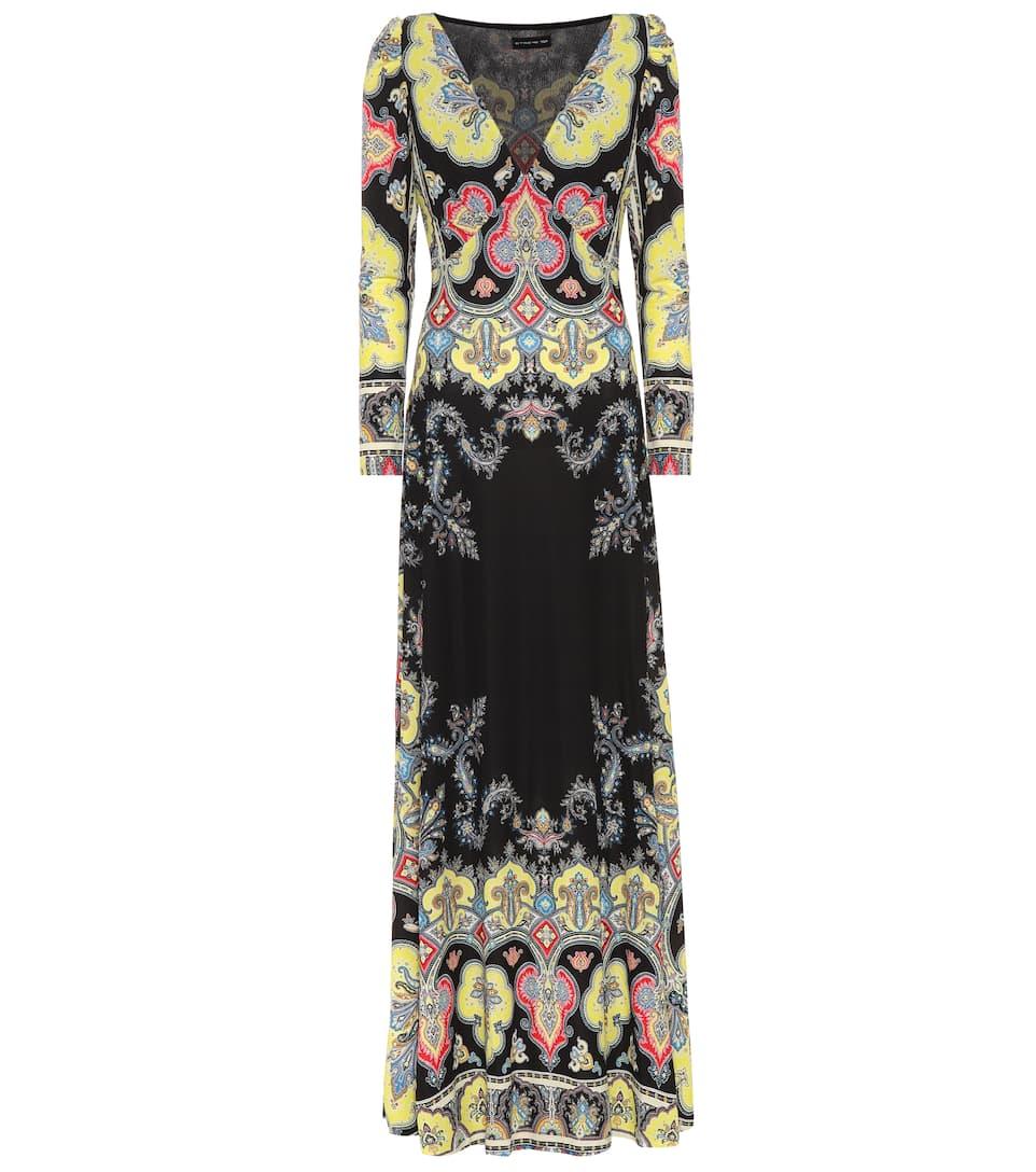 Vorbestellung Online Etro Bedrucktes Maxikleid Rabatt Nicekicks Preiswerte Reale Eastbay AR5v1MIc2