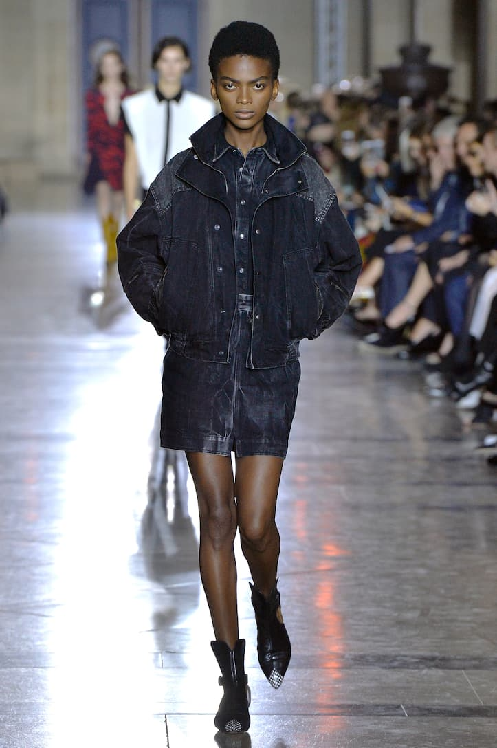 Givenchy Denim miniskirt Black Cheap Pictures yWTxd3Tu