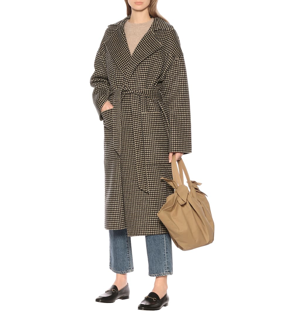 Nanushka - Alamo wool and silk coat