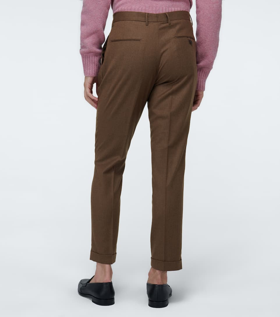 Etro Slim-fit Double-pleated Pants