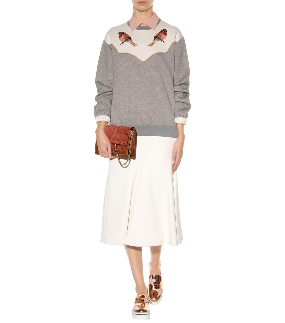 Stella Mccartney Sweatshirt Made Of Cotton